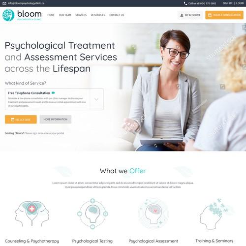 Bloom Psychology clinic