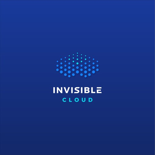 """Logo for """"Invisible Cloud"""""""