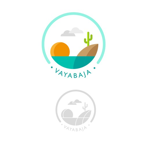 Logo proposal for  Vaya Baja