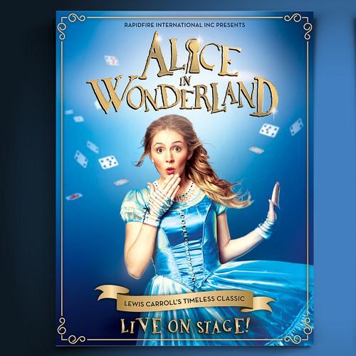 Alice in Wonderland flyer