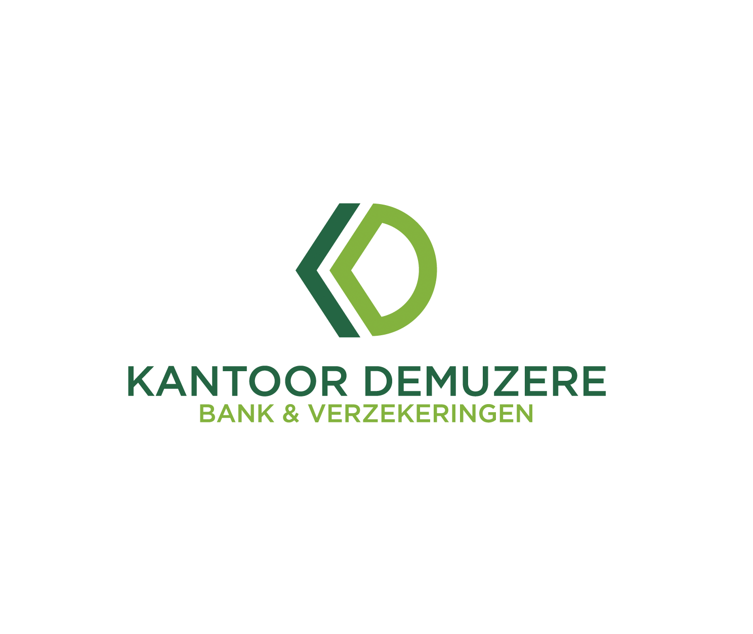 Innovative but simple business logo for a banking & insurance broker!