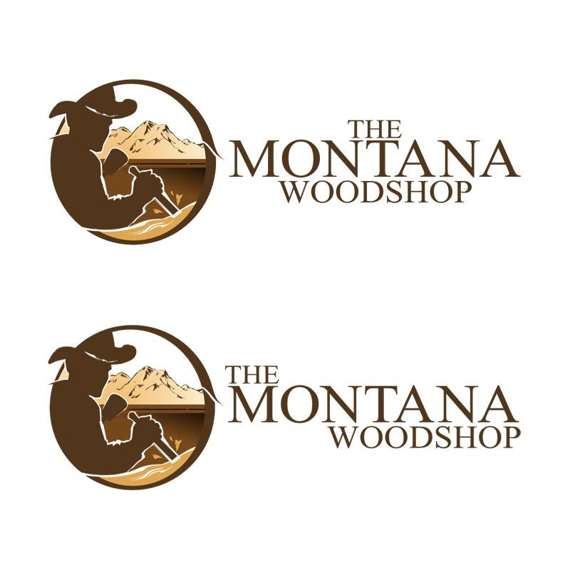 Create the next logo for The Montana Woodshop