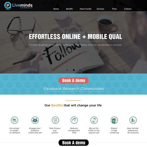 Design Single Page Website