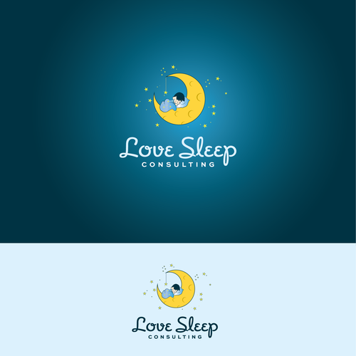 Love sleep logo
