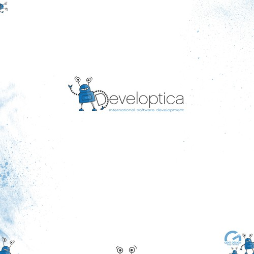 Logo design for software developer