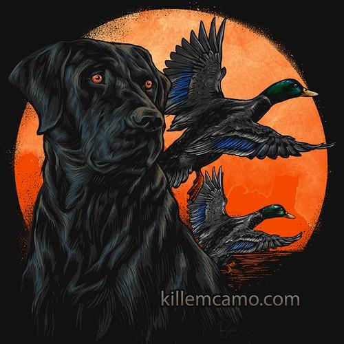 Duck & Dog for our next T-shirt (Guaranteed) Killemcamo.com