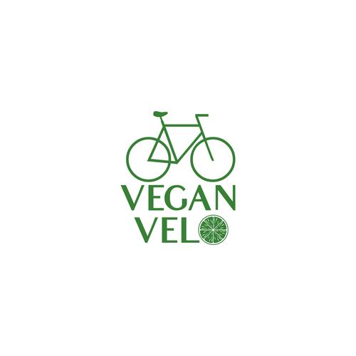 Logo for a vegan food company.
