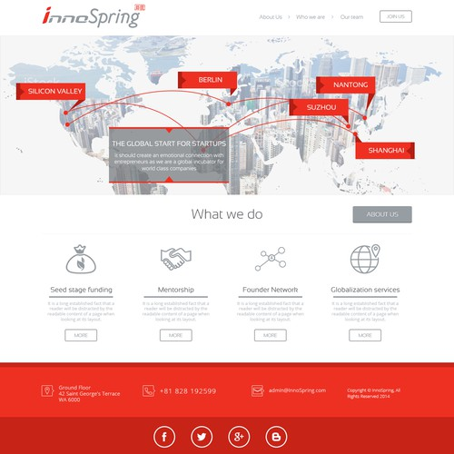 Unveiling InnoSpring, the global incubation platform for world class technology companies