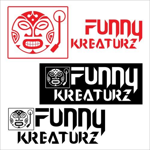 Funky Tribal Mask DJ logo