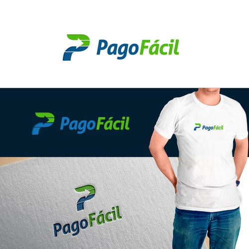 PagoFacil Logo and Business Card