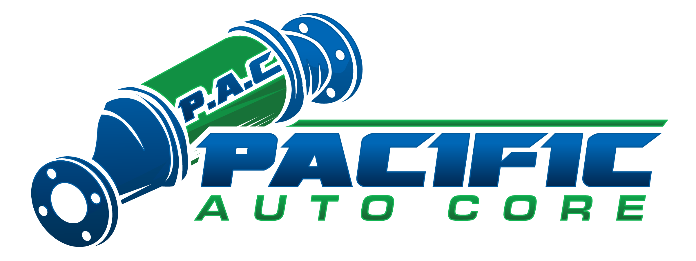 Create a logo for Pacific Auto Core Ltd that would appeal to car guys.