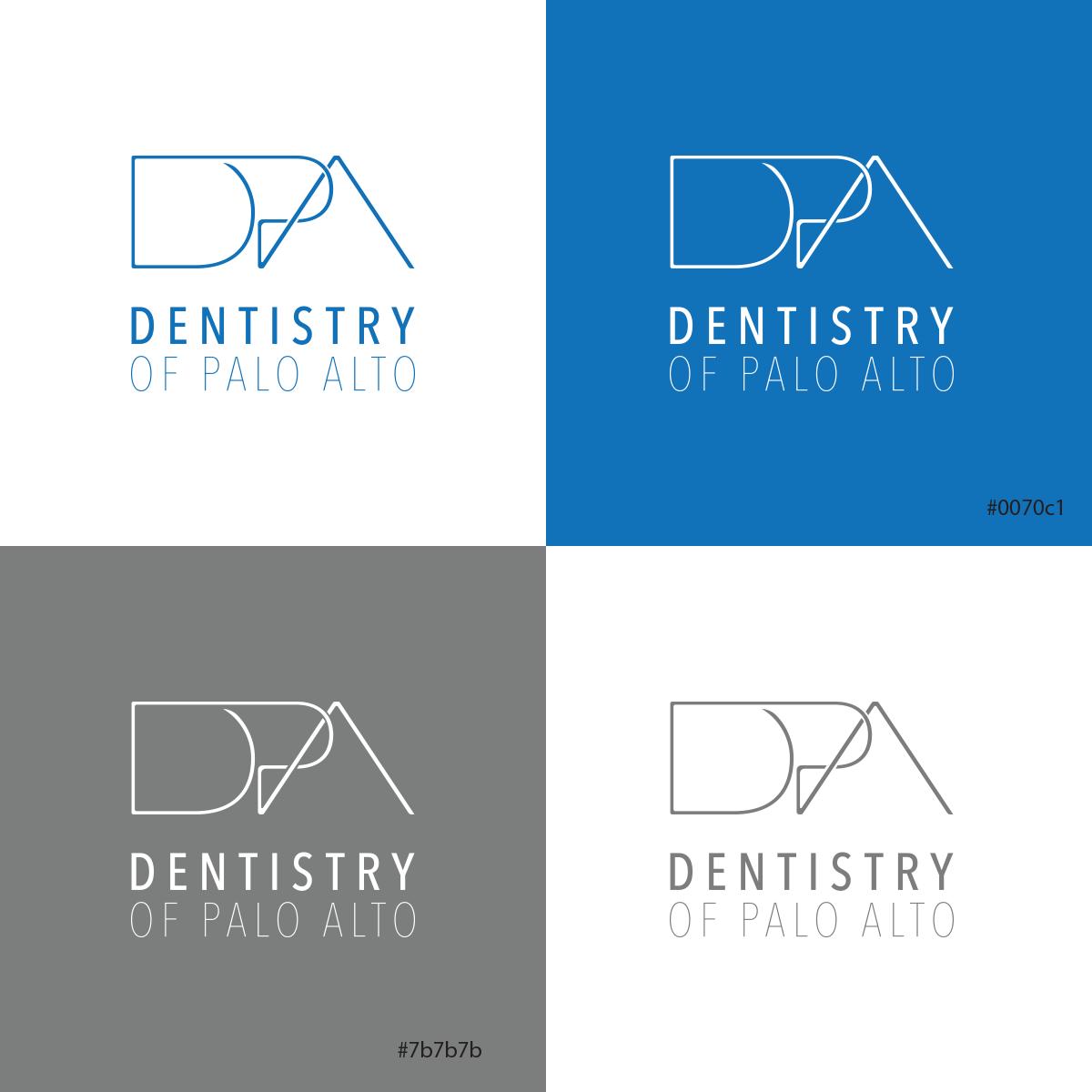 dental office logo, modern, elegant, trustworthy, simple