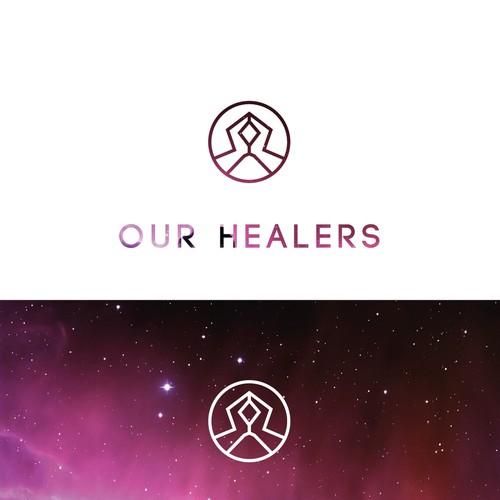 Minimalist Logo for an Alternative Healing Start Up