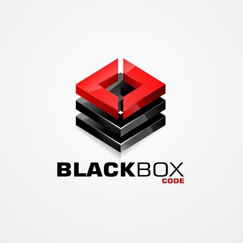 3d logo for BlackBox Code