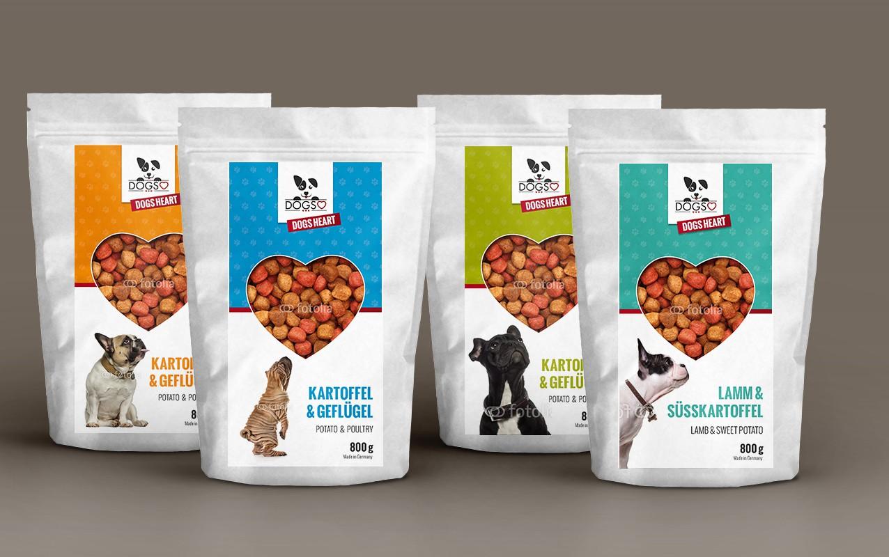 Wer traut sich an ein außergewöhnliches Label weg von der Norm für unsere Hundefutterlinie?