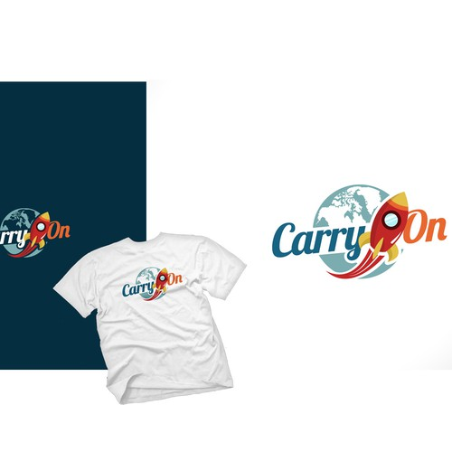 "Online Travel Search ""CarryOn"" needs a new logo"