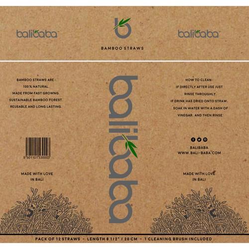 Balibaba Tube Cardboard Packaging