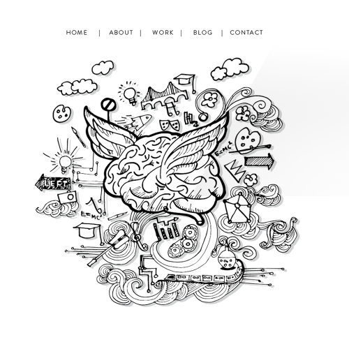 Create an intruiging and sophisticated homepage illustration for brand consultancy