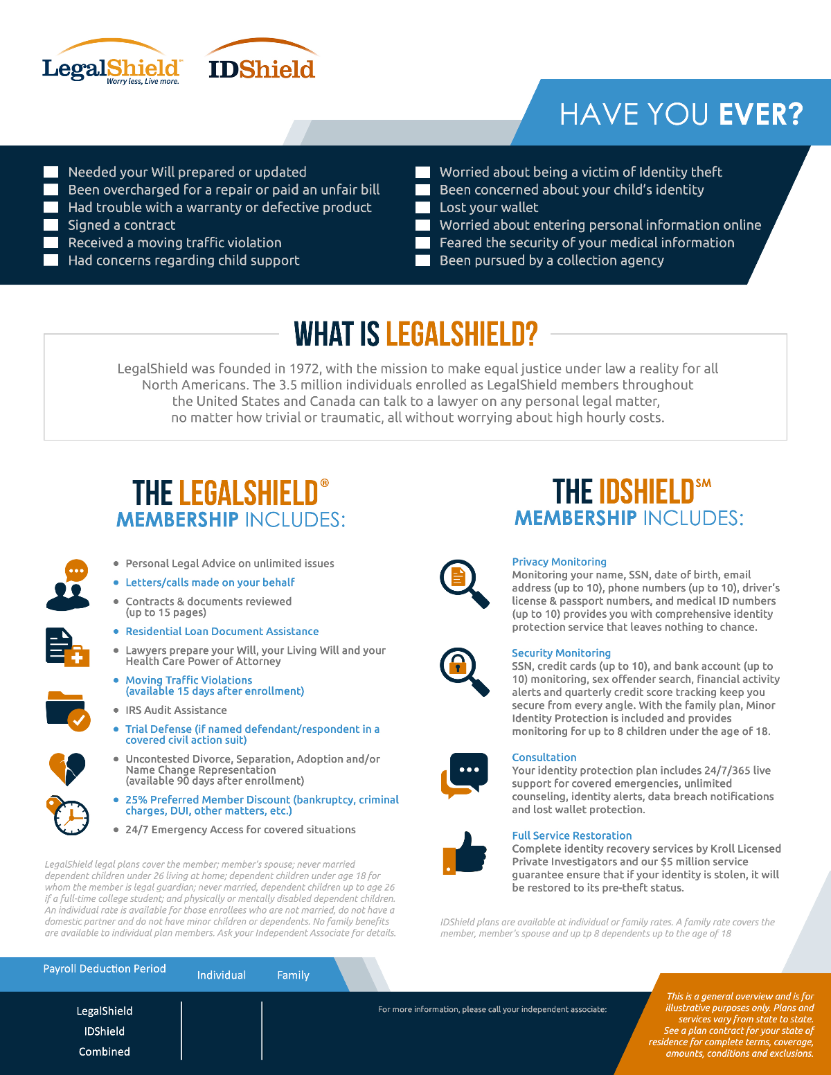 LegalShield Group Flyer