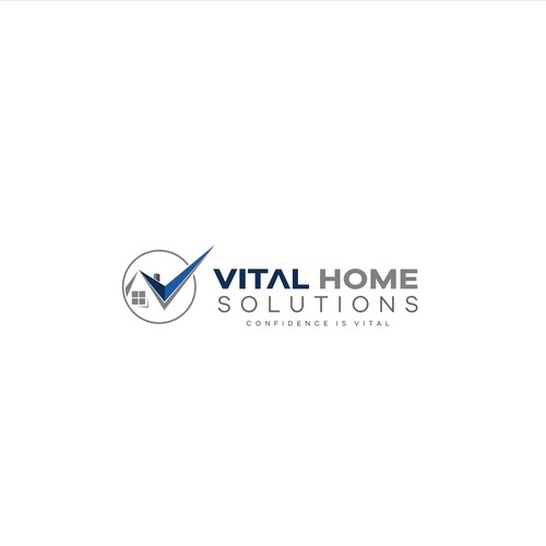 logo design for vital home solution