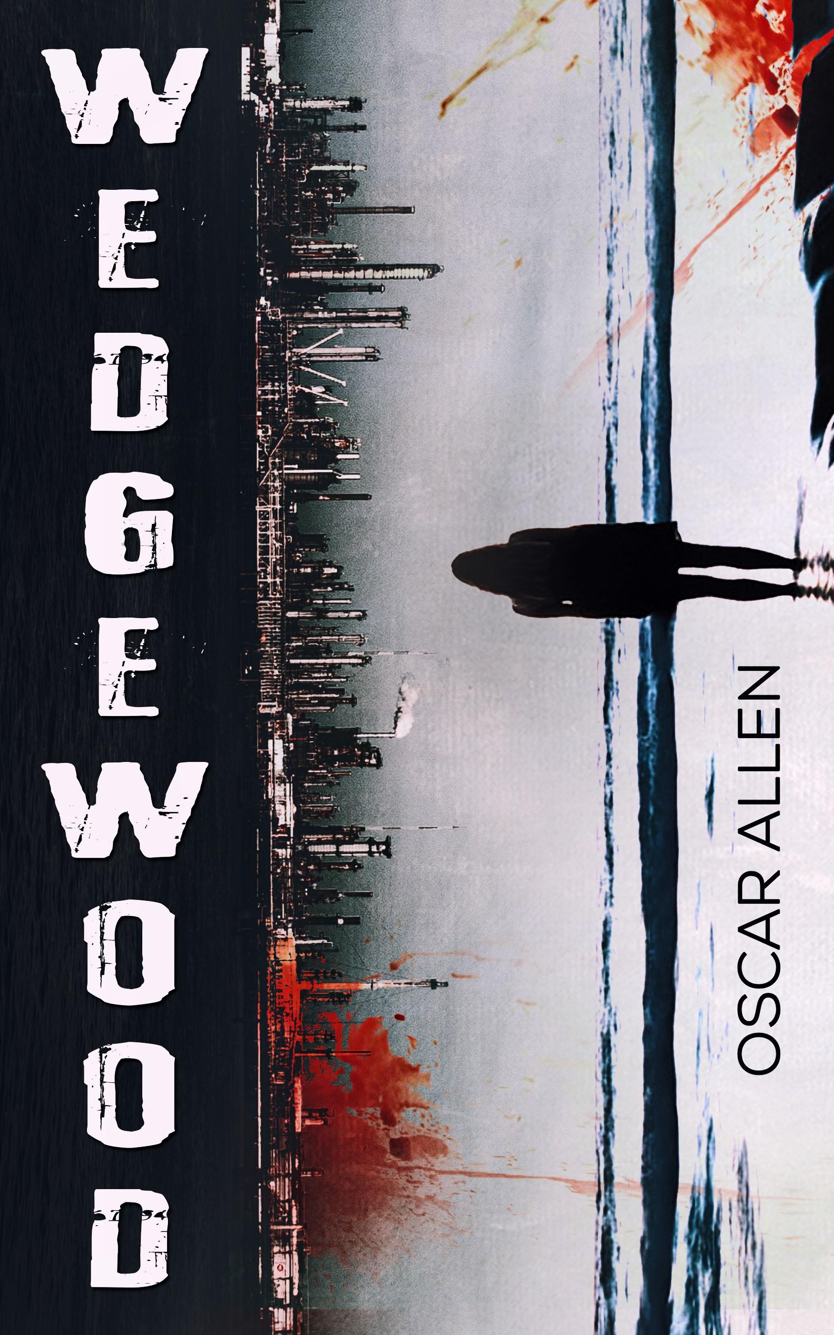 Design an ebook cover for a dark, contemporary fantasy novel