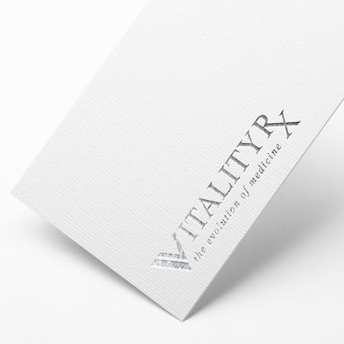 Logo concept for VitalityRx