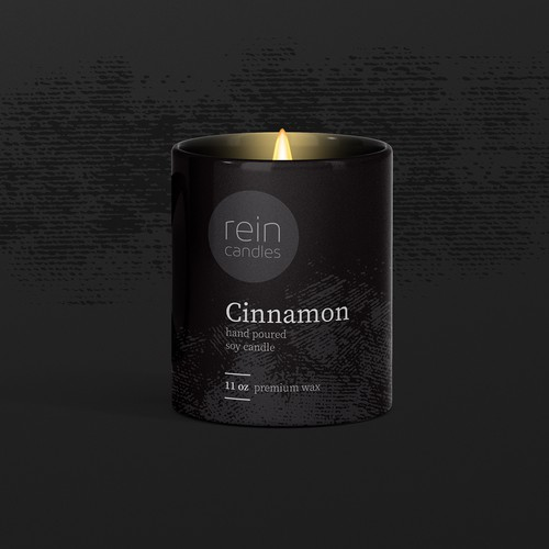 Design concept for Cinnamon candle