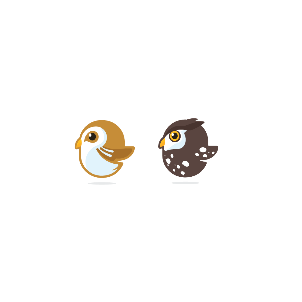 Owl (in the style of Gemini and Magpie)
