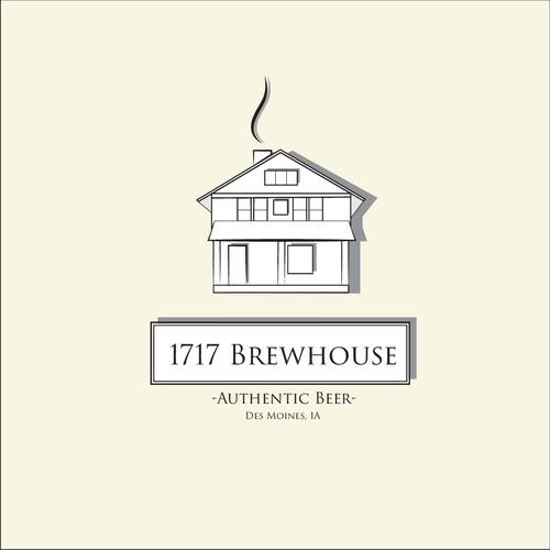 1717 Brewhouse Logo Concept