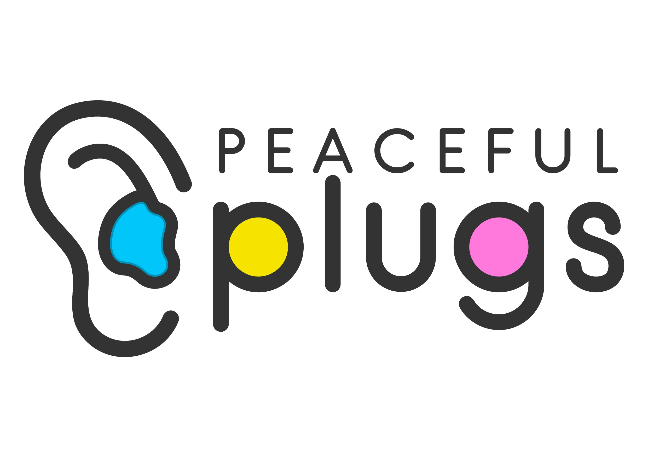 Playful, colorful logo: Either an Illustrative Ear or Unique Typography