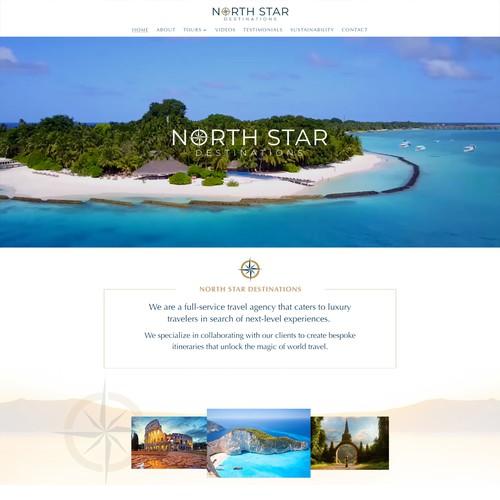 Luxury Travel Agency Website - Redesign