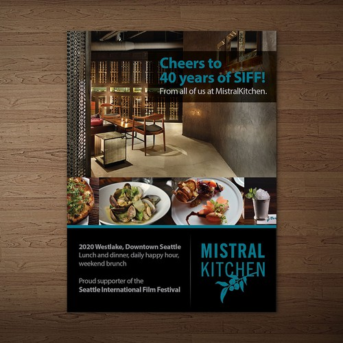 Create a magazine ad for a fantastic restaurant