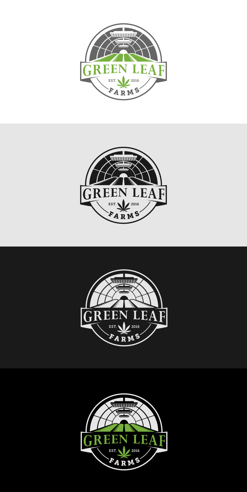Green Leaf Farms - Marijuana - Logo contest