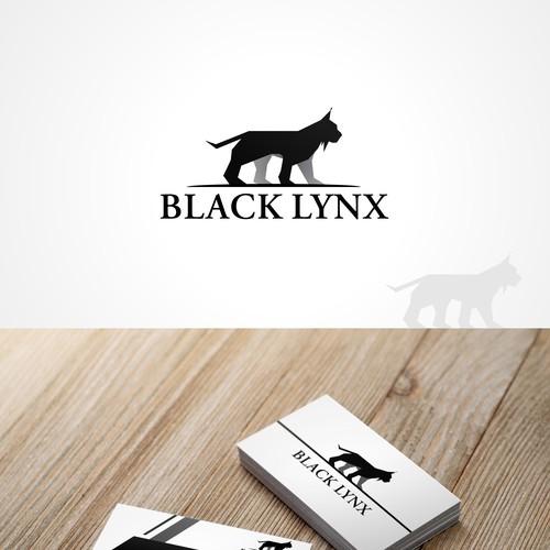 Stunning lynx logo