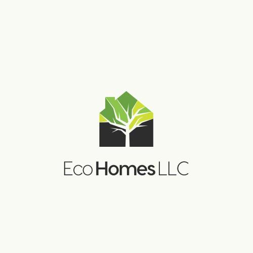 Logo concept for custom luxury home builder