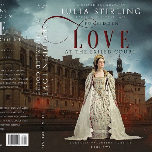 Cover for historical romance set at the exiled English court in France in 1689