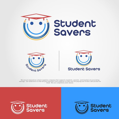 Student Savers cool logo education