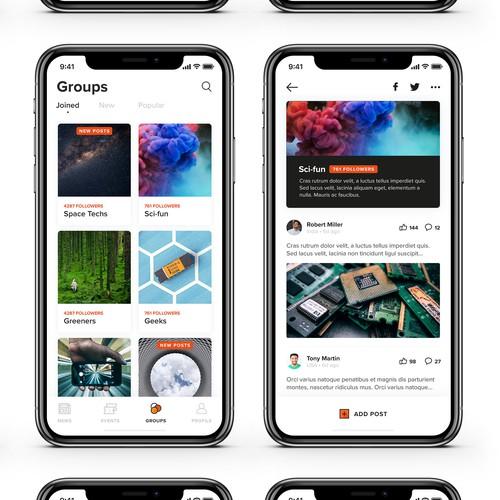 Detect - Scientific Events App