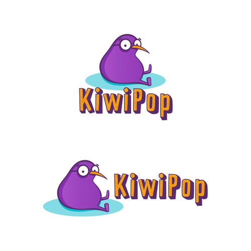 KiwiPop Logo Concept