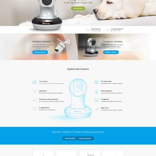 Online camera website