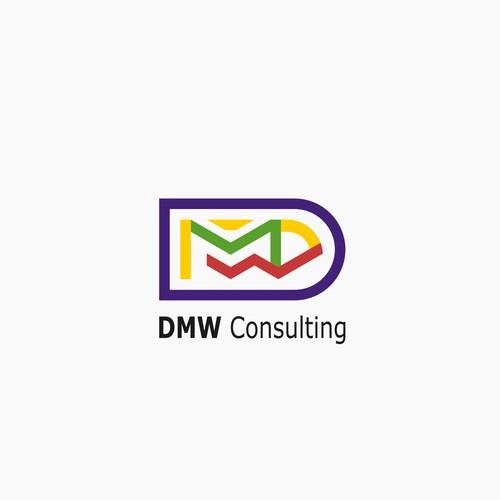DMW Consulting Logo Design