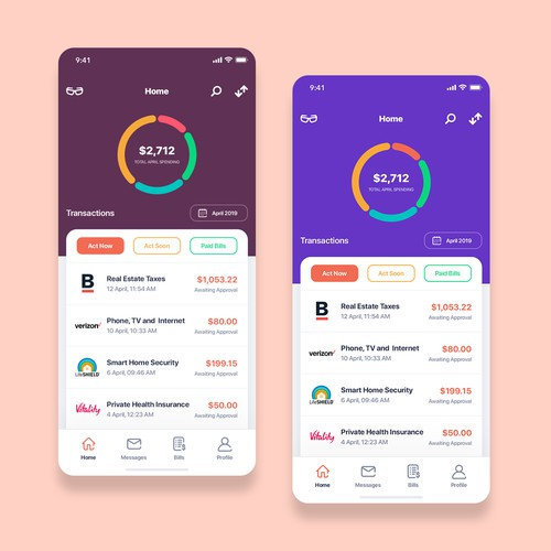 Financial app for elderly people