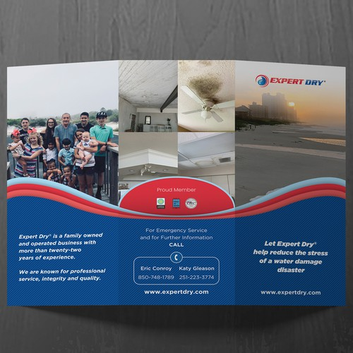Expert Dry Tri-Fold Brochure