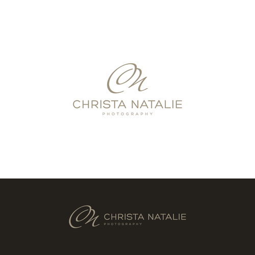 Soft and sophisticated photography logo