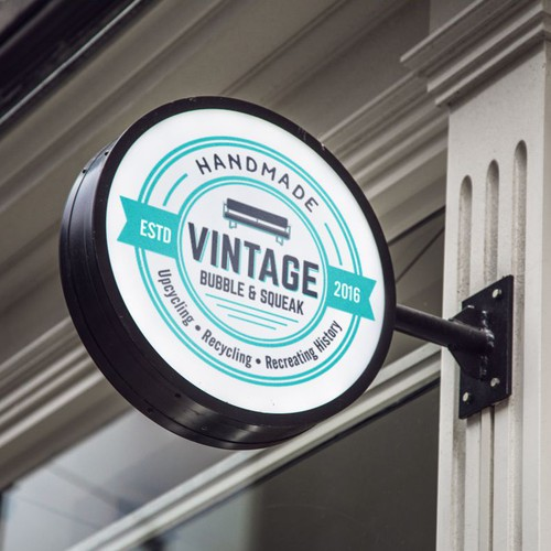 Logo For Vintage Bubble