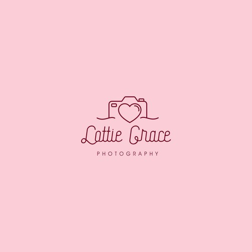 Beautiful logo for Lottie Grace Photography