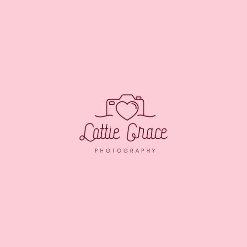 Beautiful logo for Lottie Grace Photography