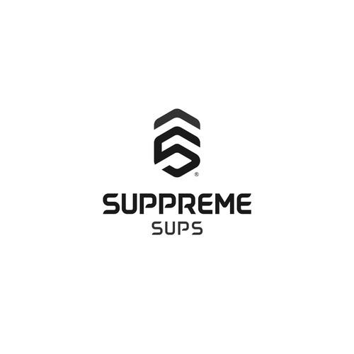 Modern logo for sup board company