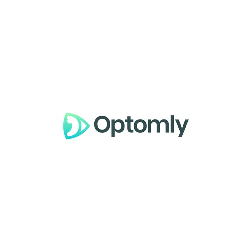 Modern logo for optomly