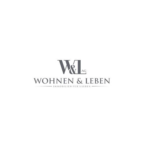 Logo Design Concept for Wohnen & Leben AG